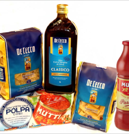 פסטות DE CECCO ומוצרי MUTTI